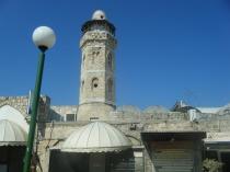 המסגד הגדול, מגדל אשקלון