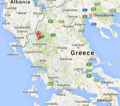 מפת יוון