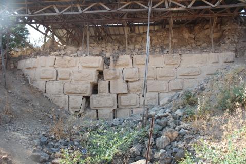 השבר בחומה הצלבנית